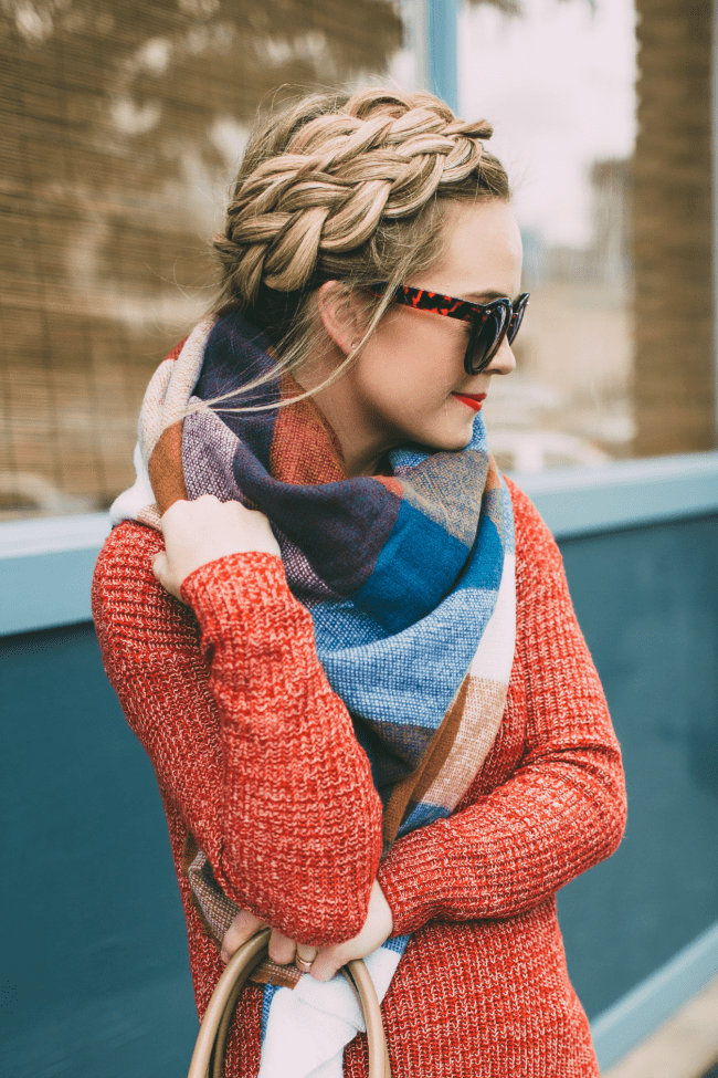 dutch-crown-braid-blanket-scarf