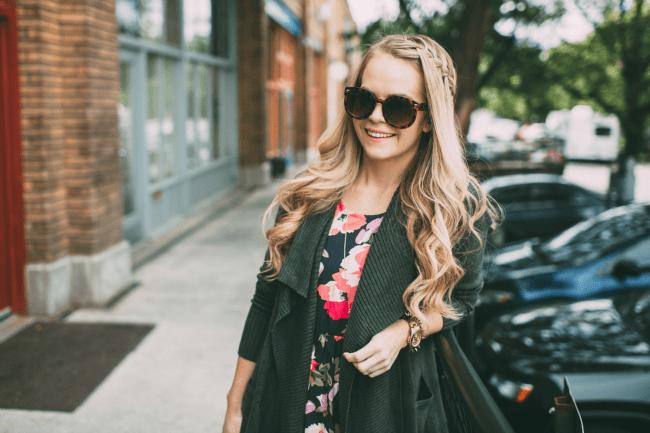 Fall Floral Fashion