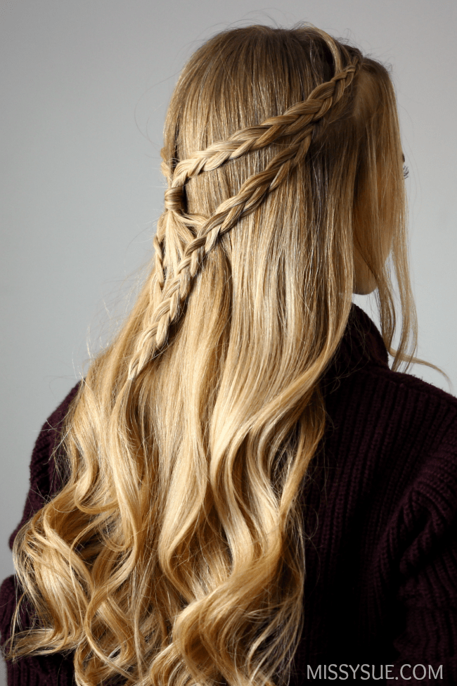 half-up-arrowhead-braid