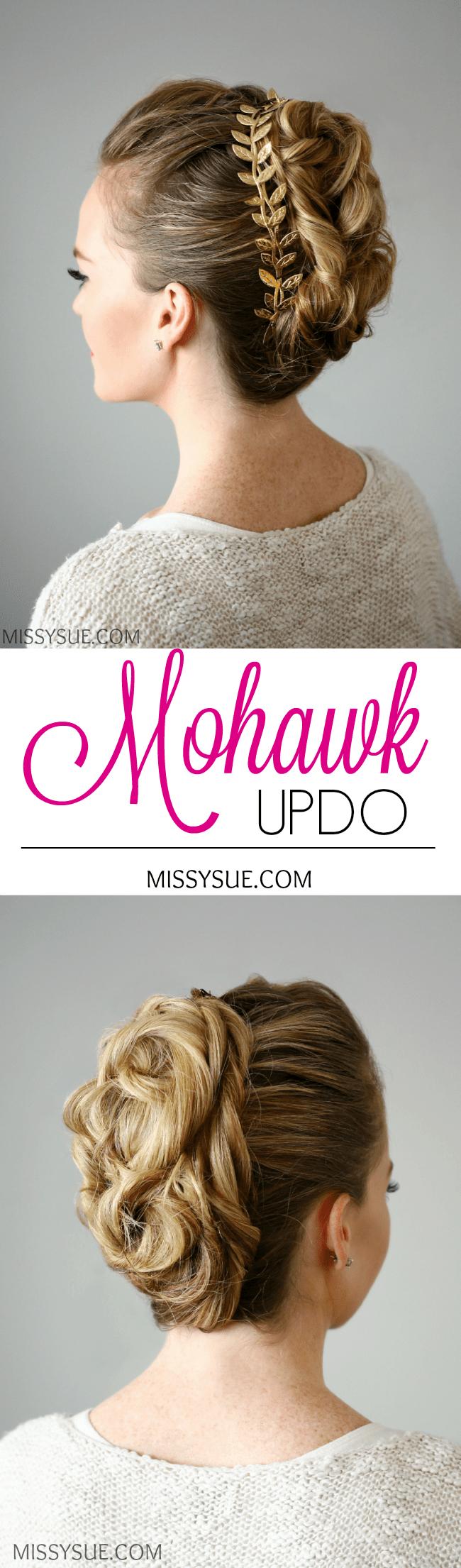 Mohawk Updo