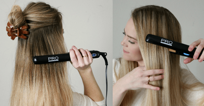 straighening-hair-pro-beauty-flat-iron