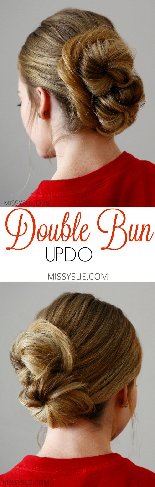 Double Bun Updo