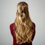 Half Up Hair Bow