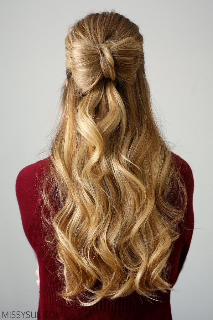 Superb Half Up Hair Bow Missy Sue Short Hairstyles For Black Women Fulllsitofus