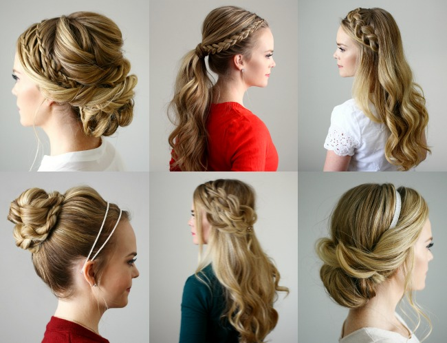 15 Holiday Hairstyles Roundup