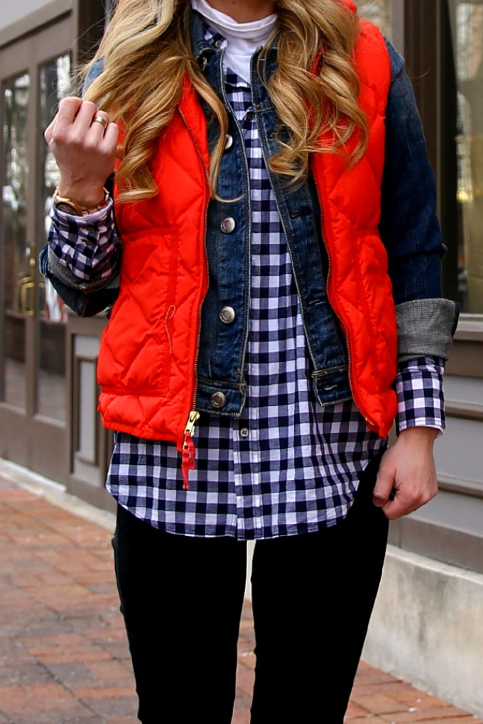 jcrew-quilted-vest-gingham-top