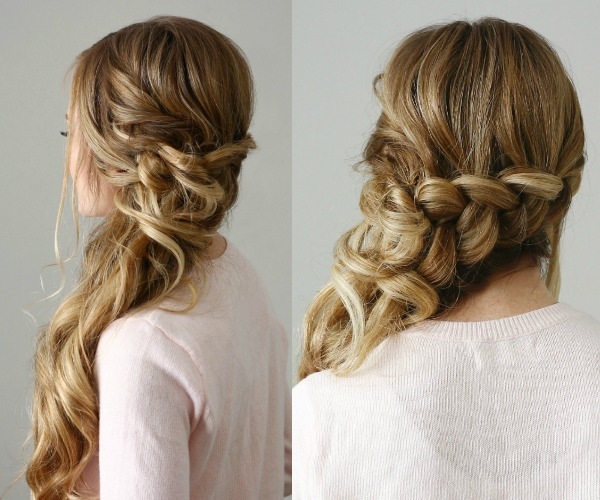 Side Swept Dutch Braid