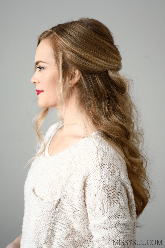 3 Holiday Hairstyles | MissySue.com