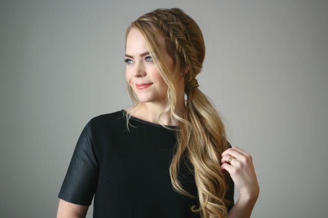 double-fishtail-braids-ponytail