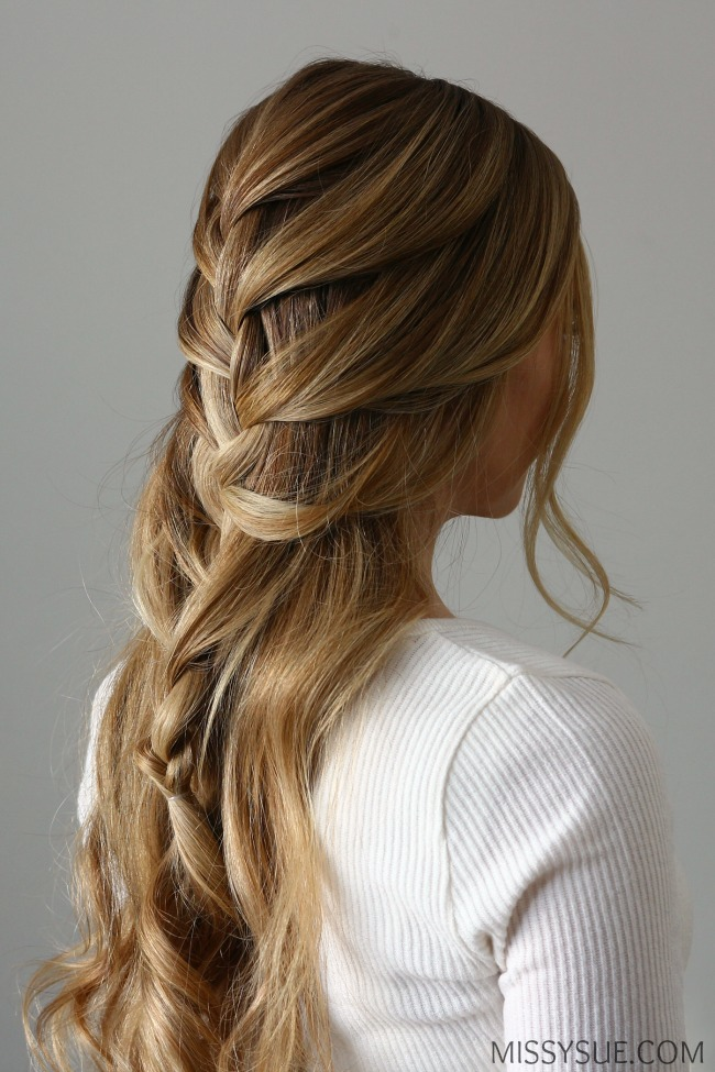 french-braid-half-up-style