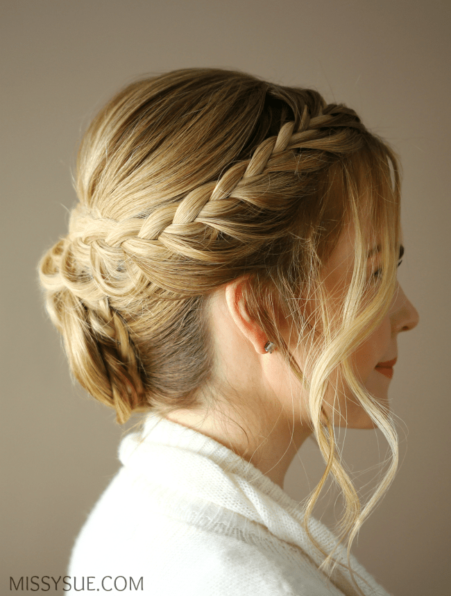 lace-braided-rosette-updo