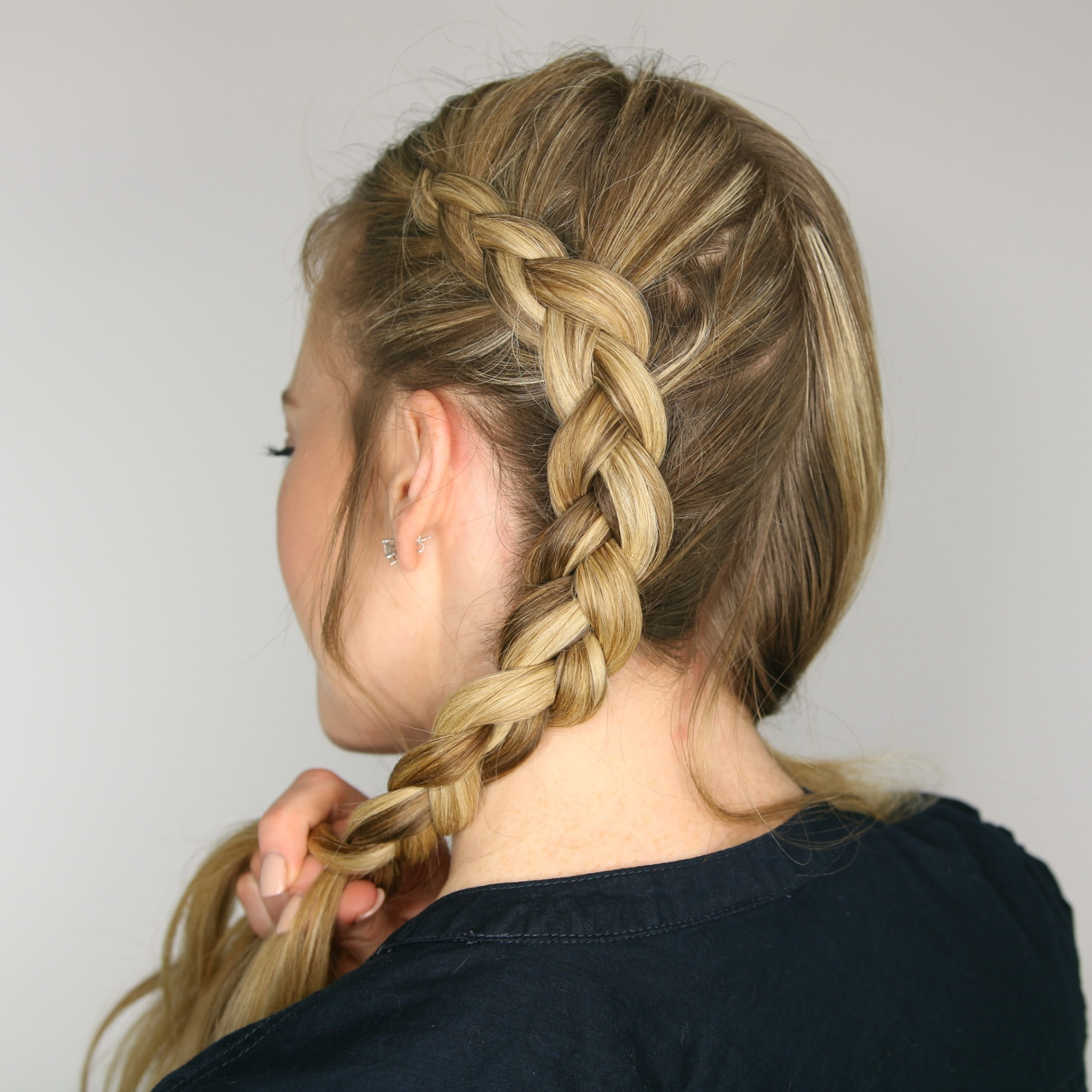 Two Dutch Braids  0dd232f1555a