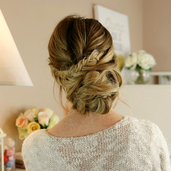 fishtail-low-bun-hairstyle