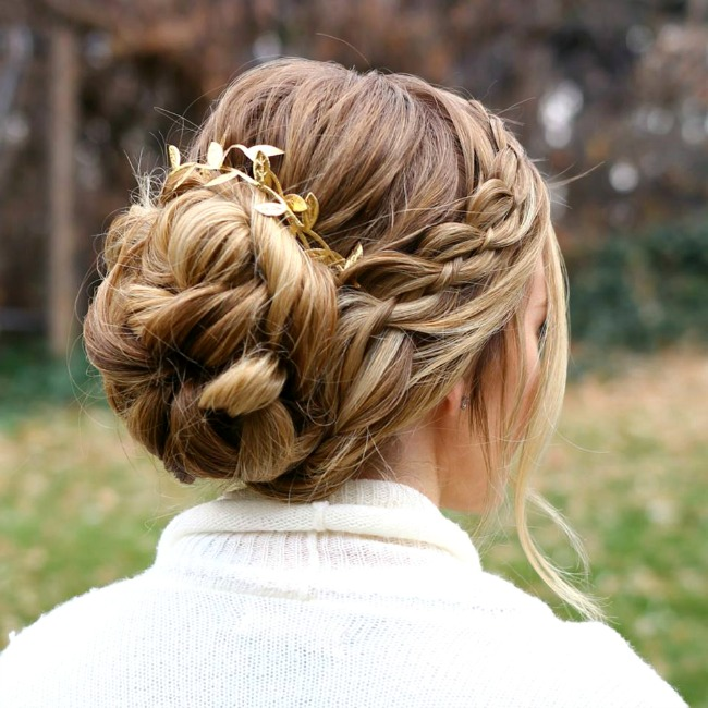 four-strand-braid-updo