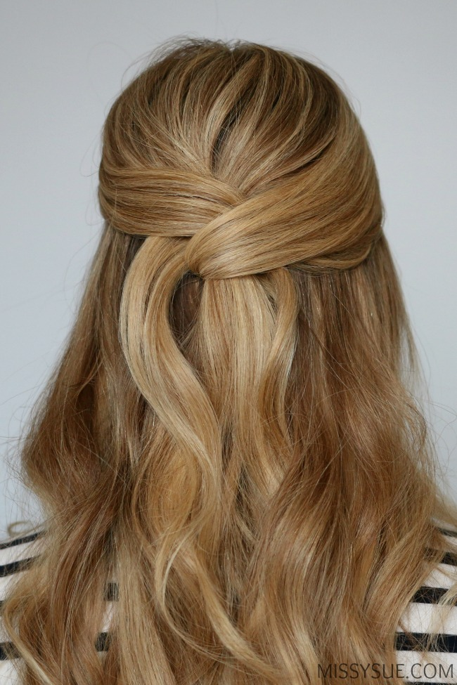 half-up-twisted-wrap-hairstyle