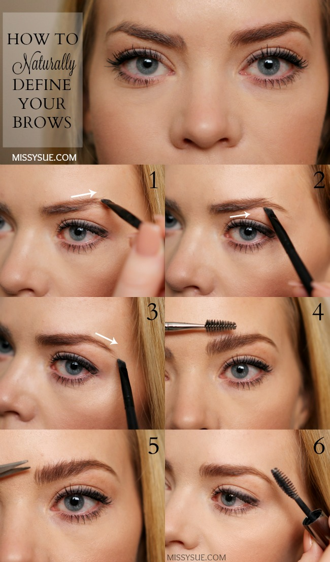How To Fill In Brows With Eyeshadow Missy Sue
