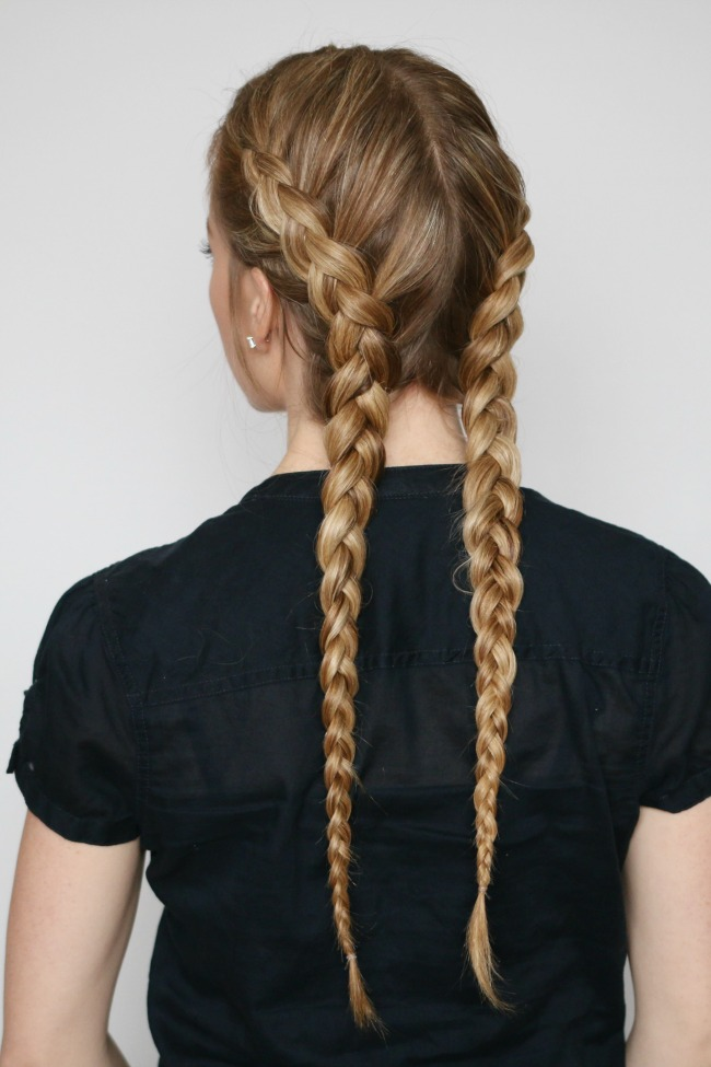 Kim K Khloe Braids Tutorial