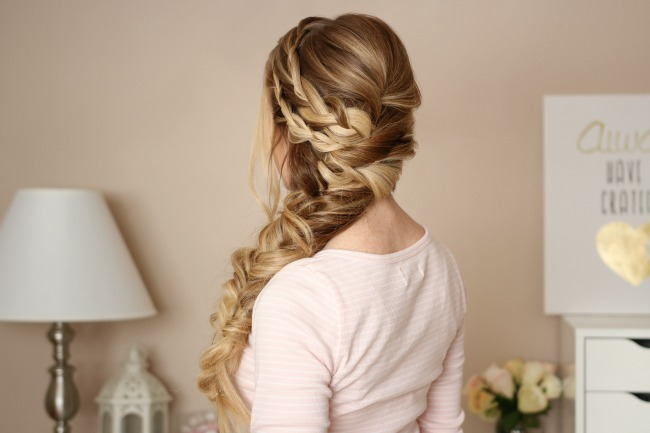 Mermaid Side Braid Missy Sue