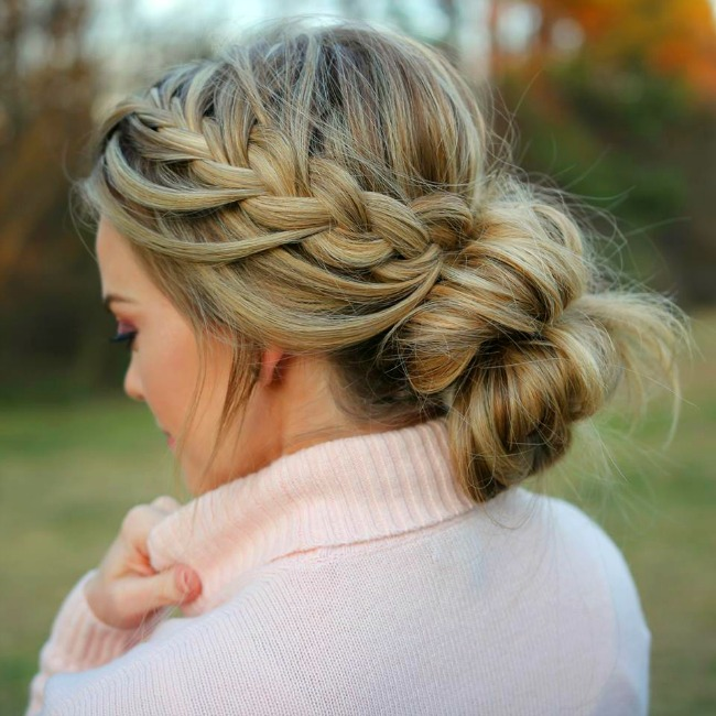 tuck-cover-french-braid-bun