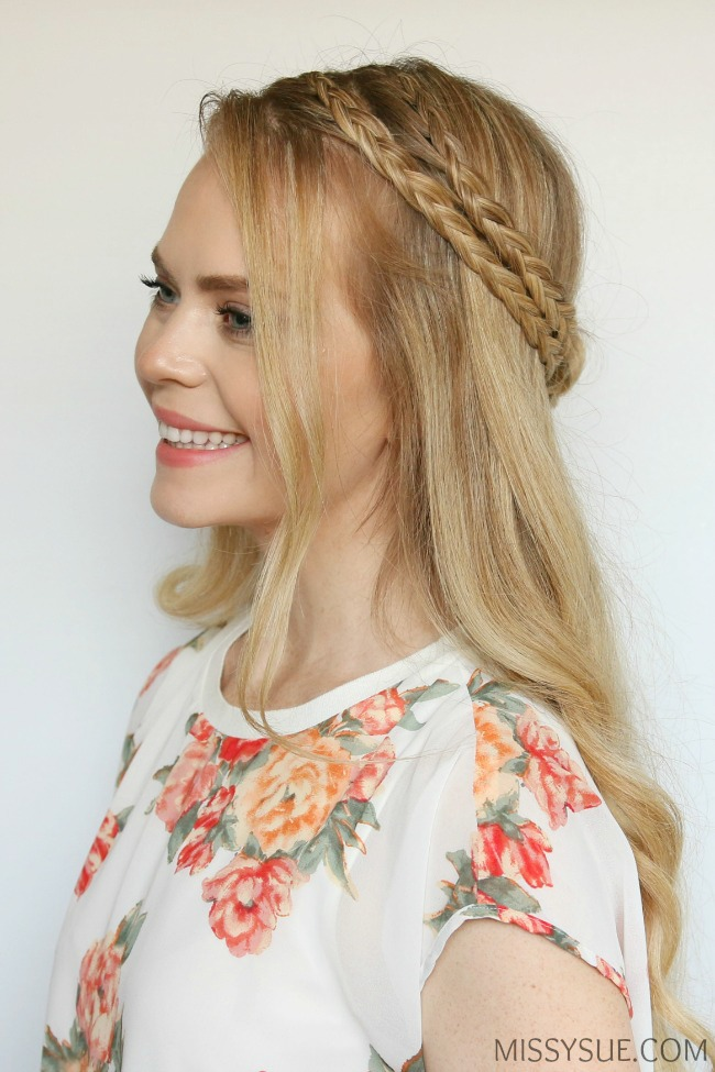two-braids-half-up-spring-hairstyle