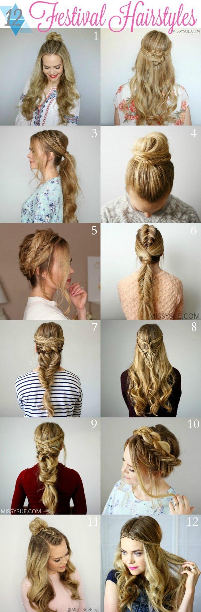 12 Festival Hairstyles