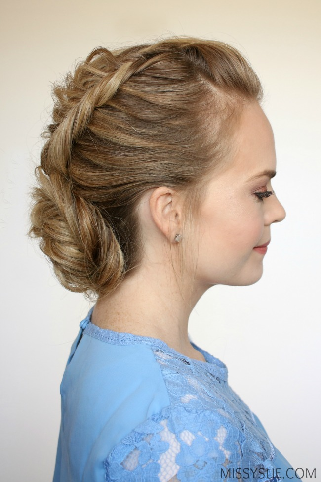 dutch-fishtail-braid-low-bun-hairstyle