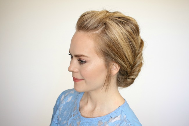 dutch-fishtail-braid-low-bun