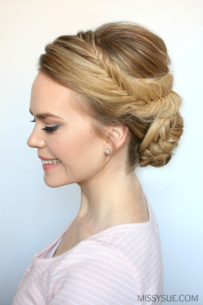 fishtail-braid-low-bun-tutorial