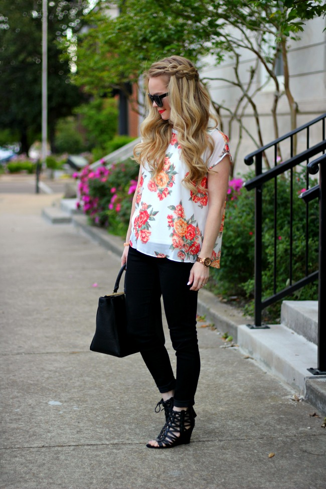 floral-top-dsw-lace-up-wedges