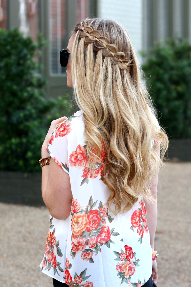 four-strand-waterfall-braid