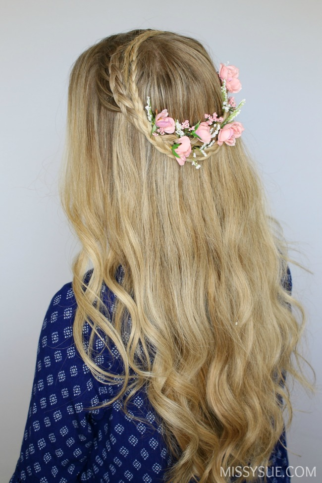 half-down-crown-braids-flower-tutorial