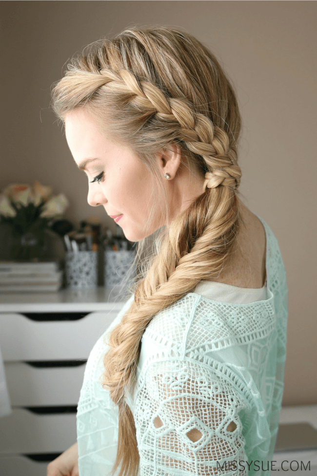 lace-fishtail-side-braid-tutorial
