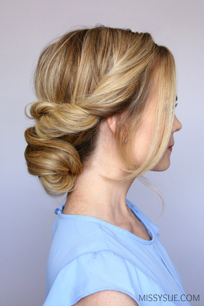 twisted-low-bun-tutorial