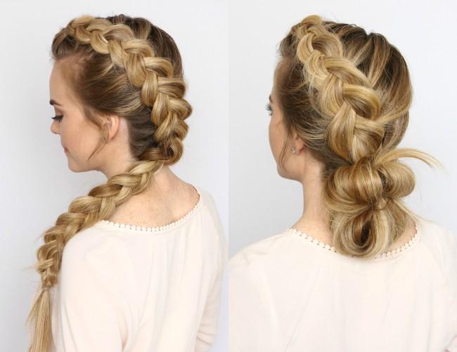 Dutch Mohawk Braid Hairstyles Missy Sue