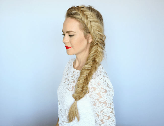 Admirable How To Dutch Fishtail Braid Missy Sue Natural Hairstyles Runnerswayorg