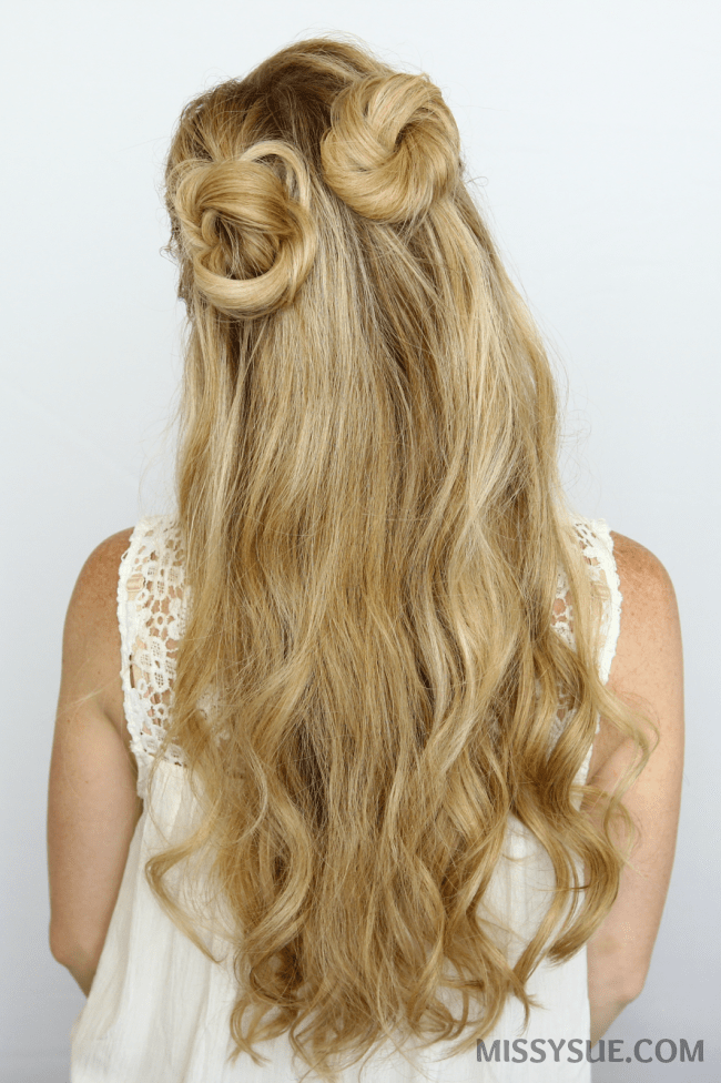 half-up-double-buns-hair-tutorial   MISSY SUE