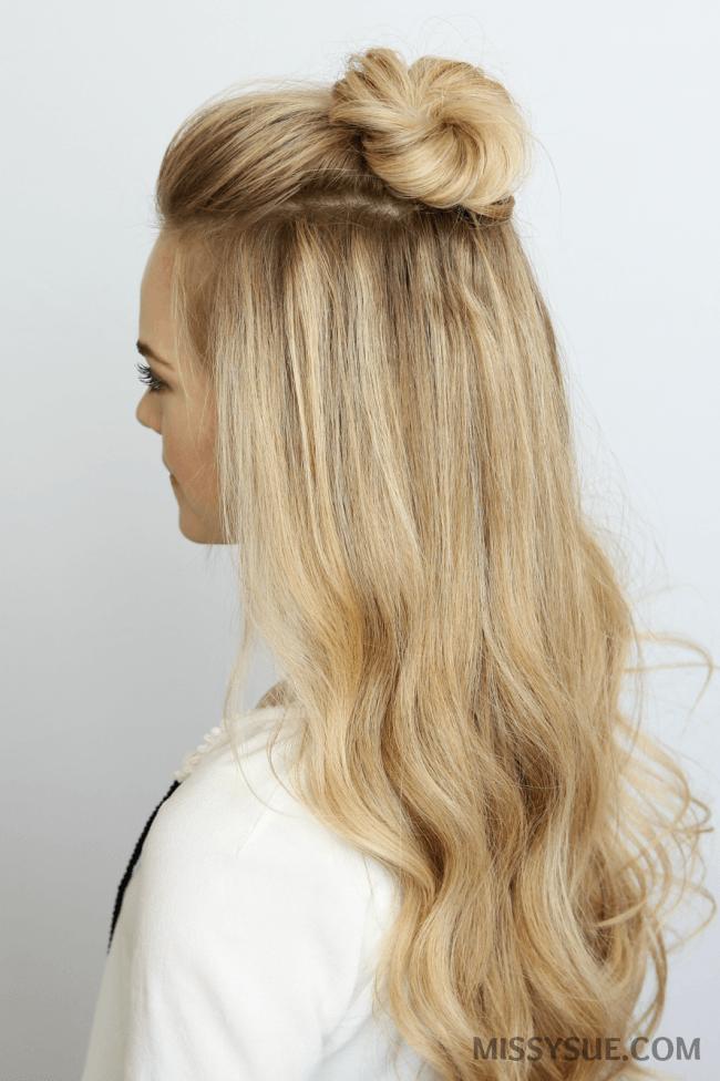 5 Summer Mini Bun Hairstyles