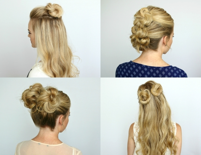 Fabulous 5 Summer Mini Bun Hairstyles Missy Sue Schematic Wiring Diagrams Amerangerunnerswayorg