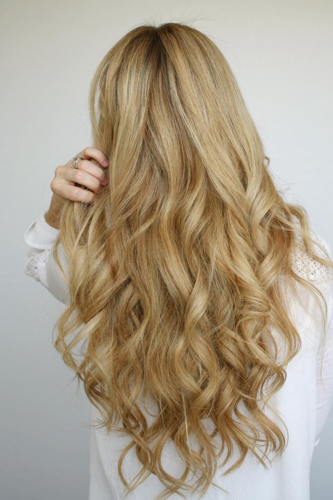 Beach Waves Hair Tutorial