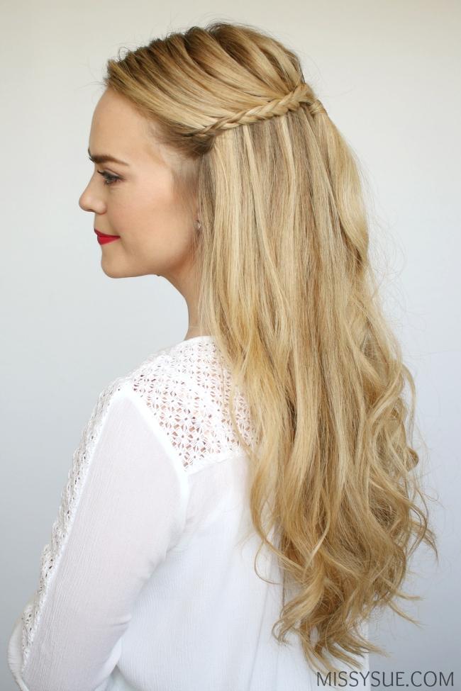 half-up-braids-beach-curls-hairstyle