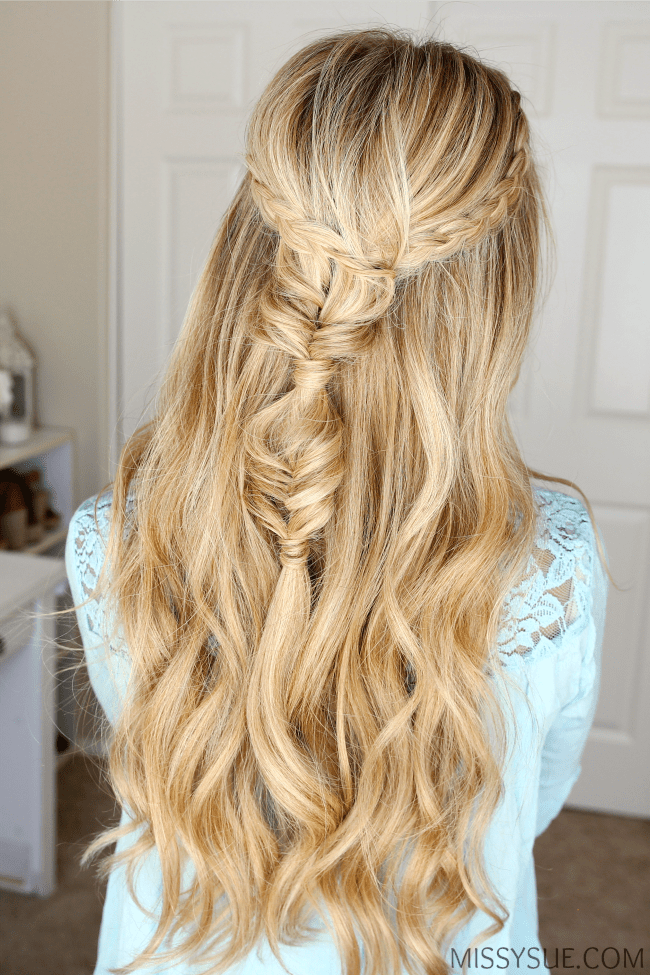 dutch-braids-fishtail-combo-hairstyle