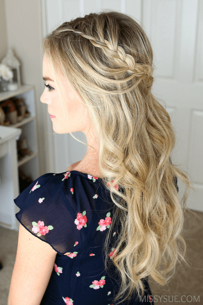 Looped Boho Braids 2 Ways Missy Sue