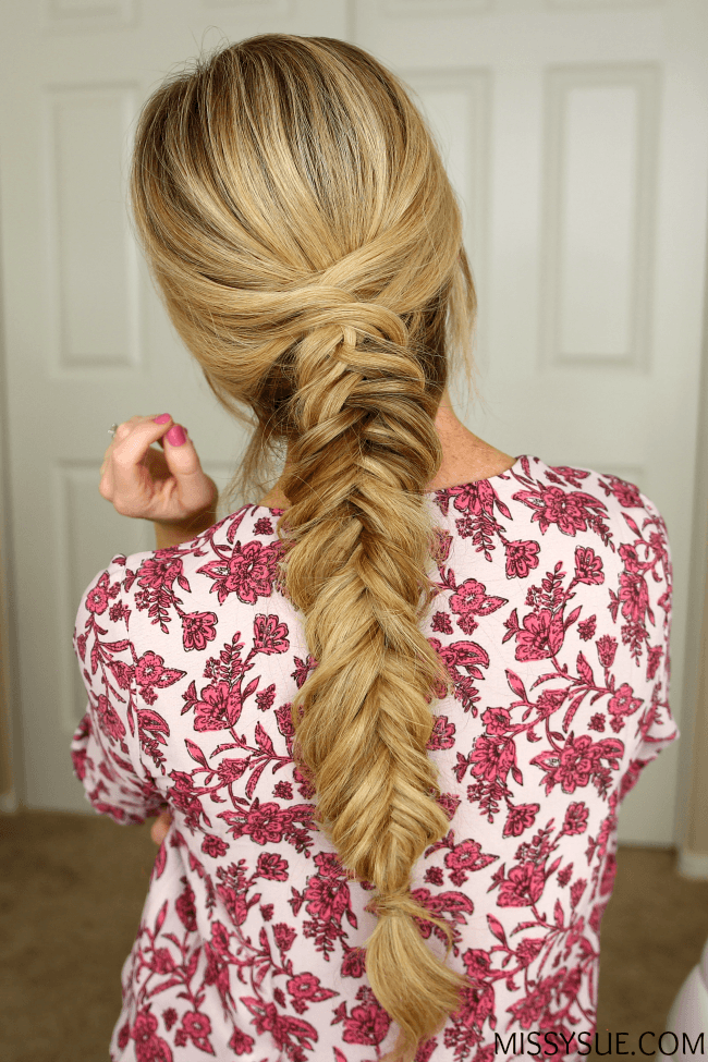 Fancy Dutch Fishtail Braid Missy Sue