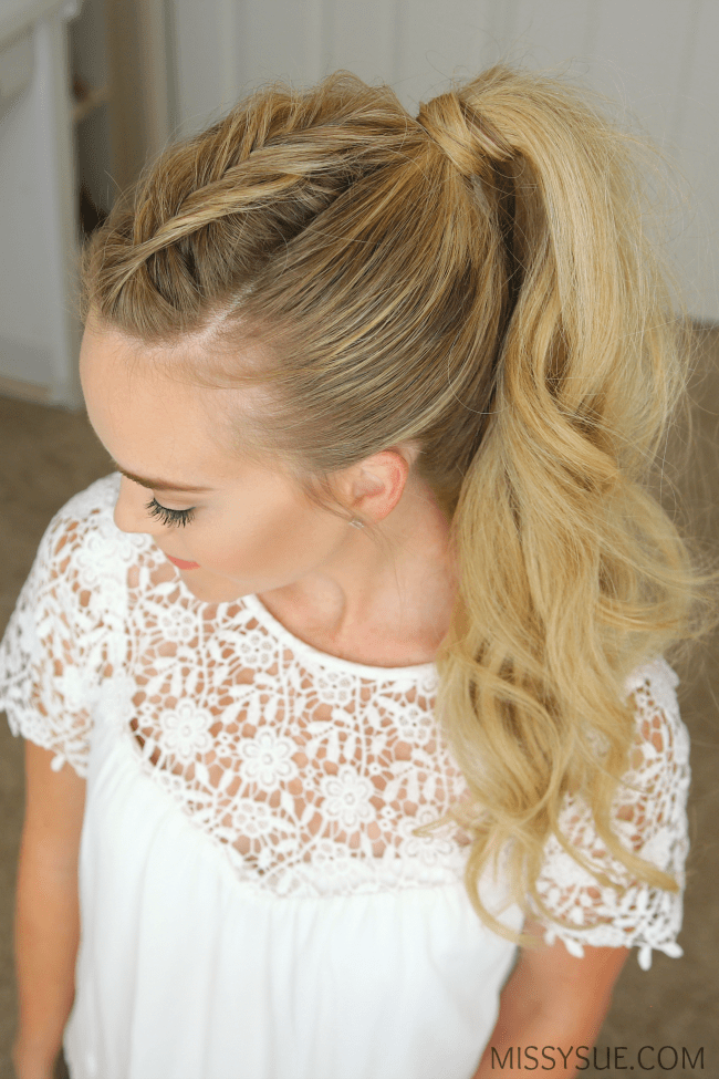 Dutch Fishtail Mohawk Braid Missy Sue