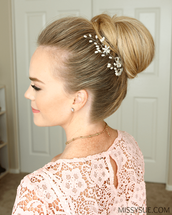 wrapped-high-bun-hairstyle