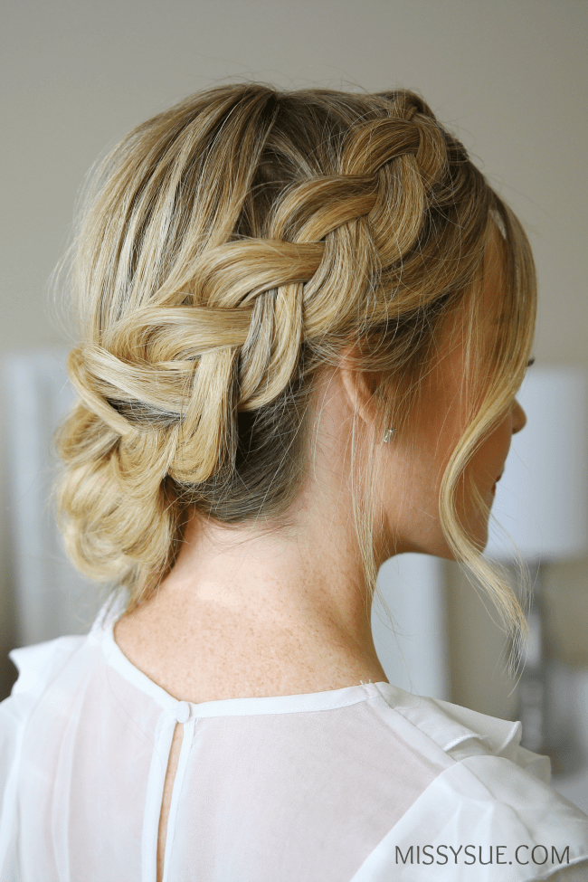 dutch-braid-low-bun-hairstyle-tutorial
