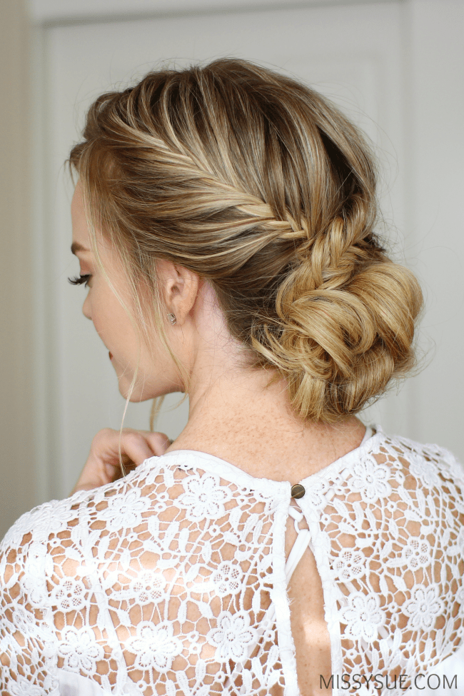 fishtail-french-braid-low-bun