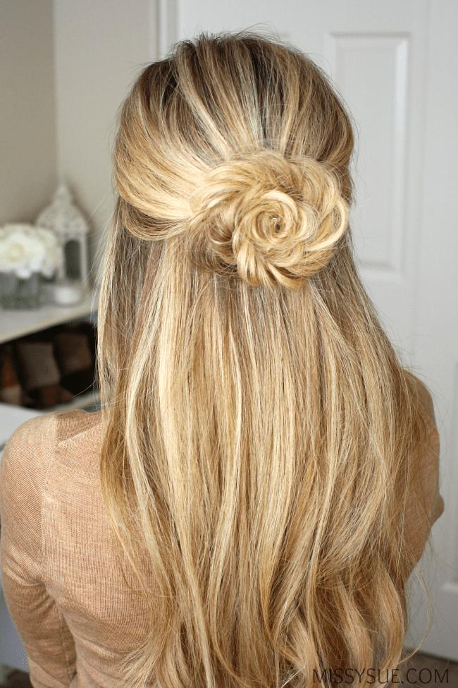 half-up-fishtail-flower-braid