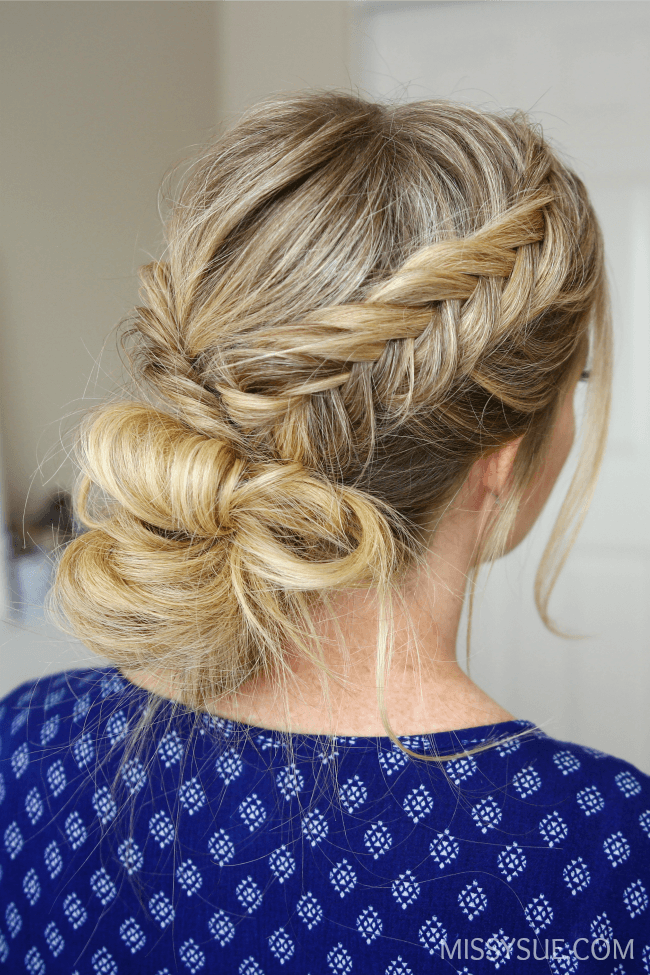 3 fishtail braid hairstyles missy sue for Fish tail hair
