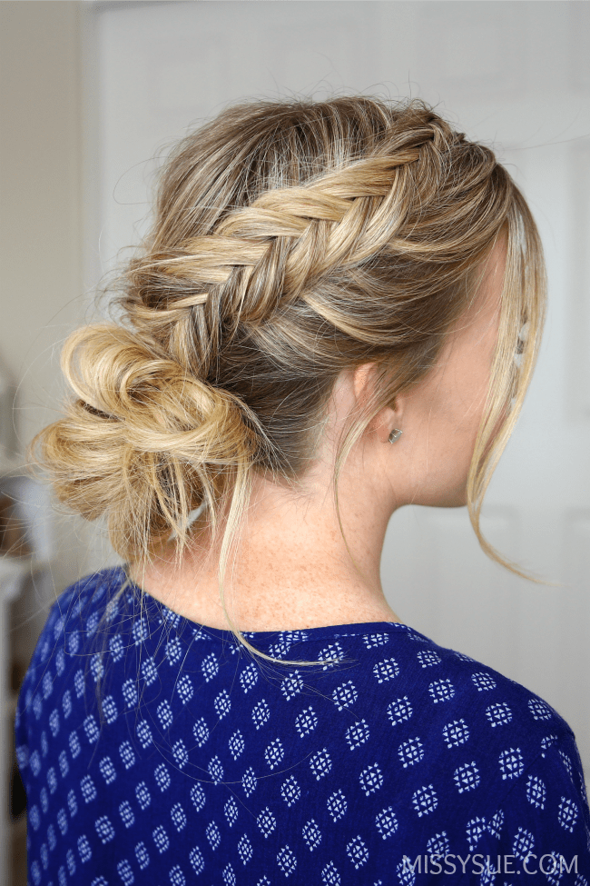 3 Fishtail Braid Hairstyles Missy Sue